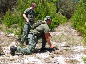 tracking stick mantracking man-tracking Flagler County Sheriff's Office